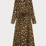 MaxiVestido Leopardo Scotch and Soda