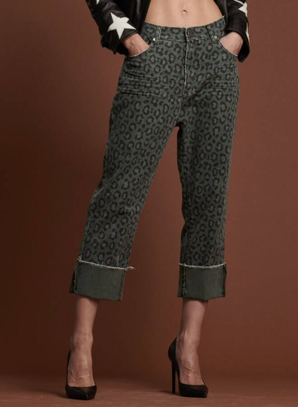 Pantalon Leopard, One Teaspoon