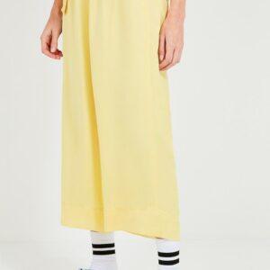 pantalon mujer amarillo