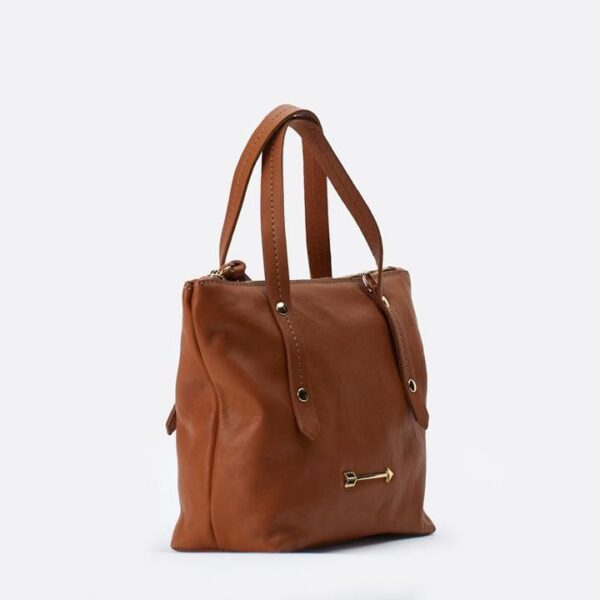 bolso marron mercules