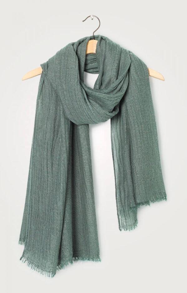 bufanda mujer verde