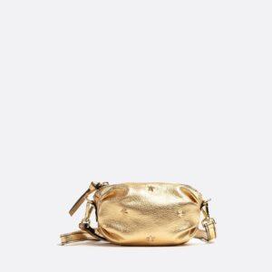 bolso dorado mercules