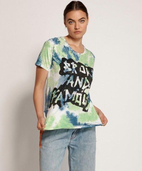 camiseta verde OneTeaspoon
