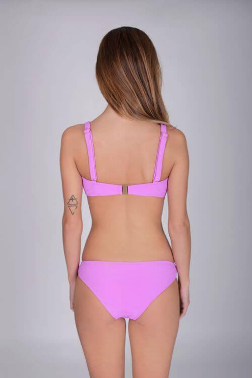 bikini lila mujer