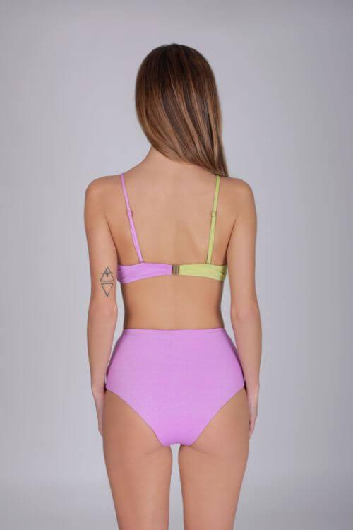 bikini bicolor mujer