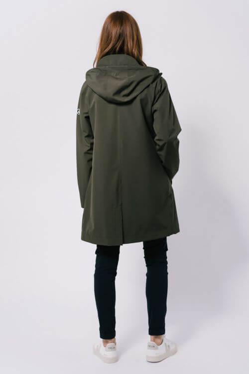 chaqueta dew rainwear woman