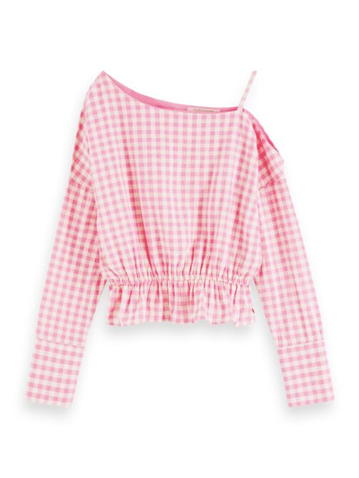 camisa asimetrica